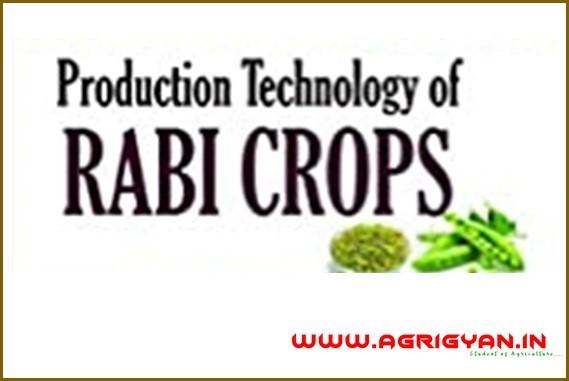 Crop Production Technology-2 (Rabi Crops) PDF