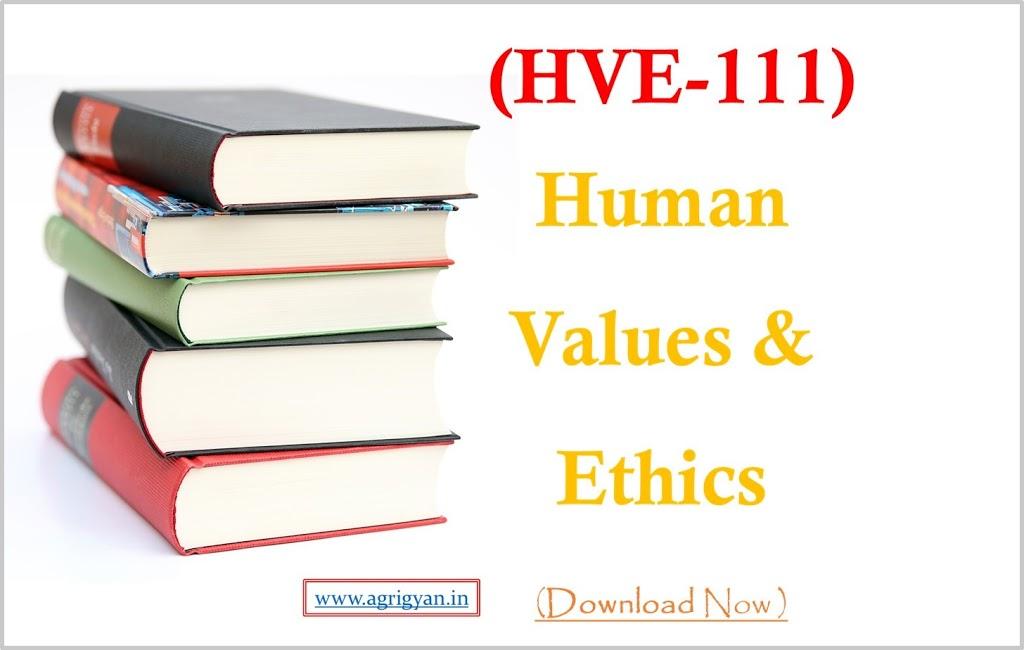 Human Values & Ethics Hindi PDF/Book Downlaod