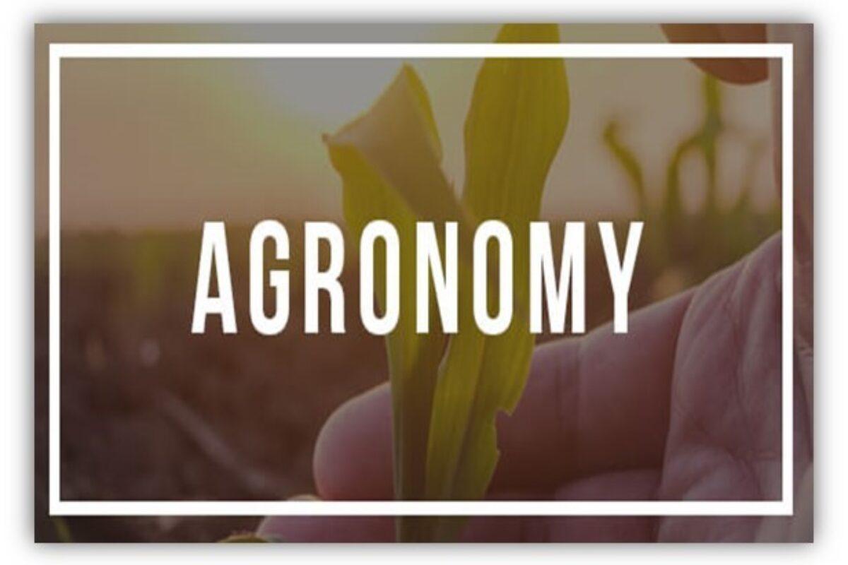 Agronomy SKNAU  Notes PDF