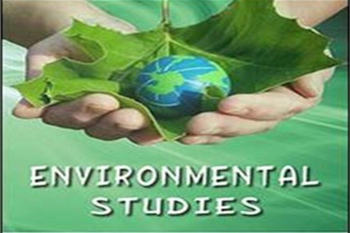 Environmental Studies  SKNAU PDF